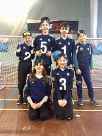 Junior team shot at day with Cambridge