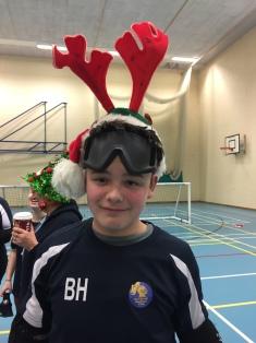 Ben in reindeer antlers