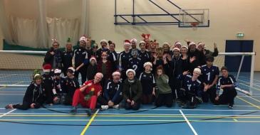 Team Silly Christmas Shot