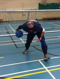 Goalball Chairman Throwing